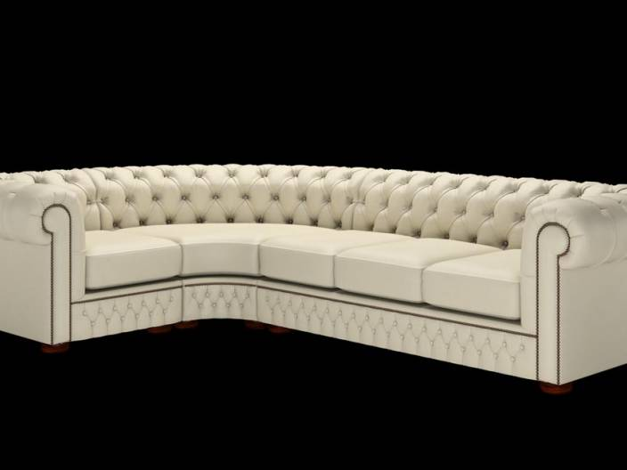 Chesterfield Ecksofa (1 x 3)