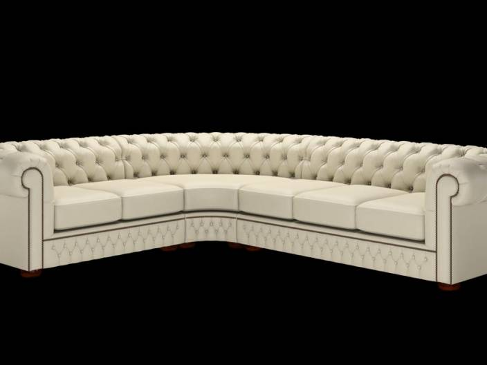 Chesterfield Ecksofa (2 x 3)