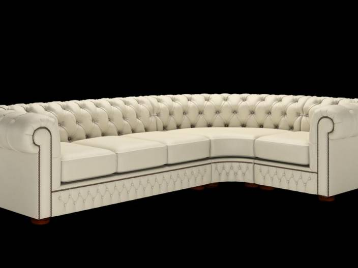 Chesterfield Ecksofa (3 x 1)