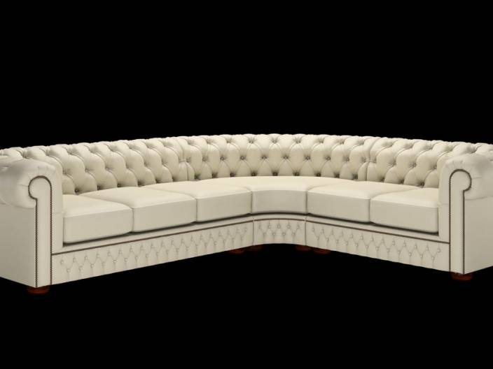 Chesterfield Ecksofa (3 x 2)