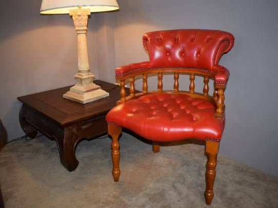 Chesterfield Captains Chair