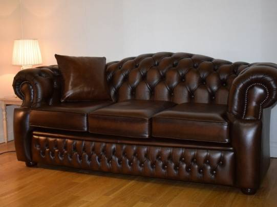 Chesterfield 3er Sofa Lawrence
