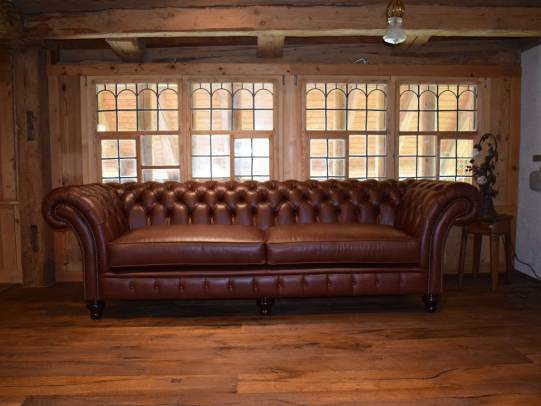 Wordsworth 4er Sofa in Ranch Brown