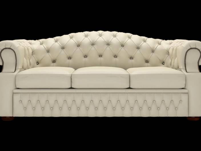 Chesterfield Sofa Lawrence 3-Sitzer