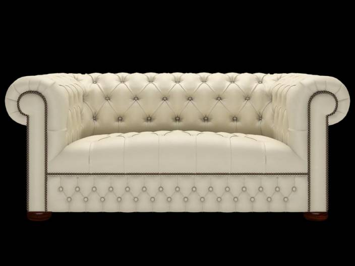 Chesterfield Sofa Linwood 2-Sitzer