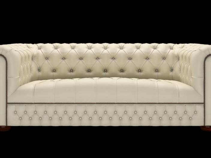 Chesterfield Sofa Linwood 3-Sitzer