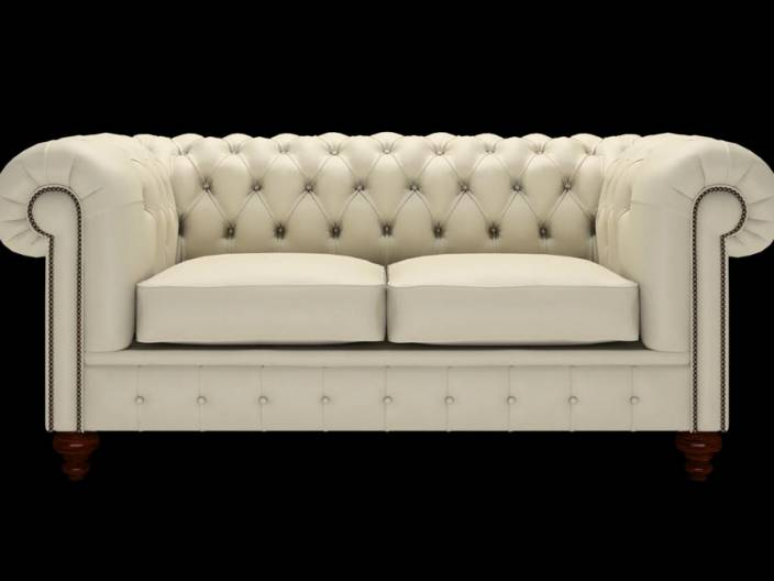 Chesterfield Sofa Raleigh 2-Sitzer